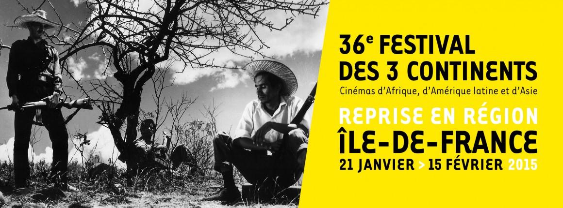 Reprise du Festival des 3 Continents en Région ile de France