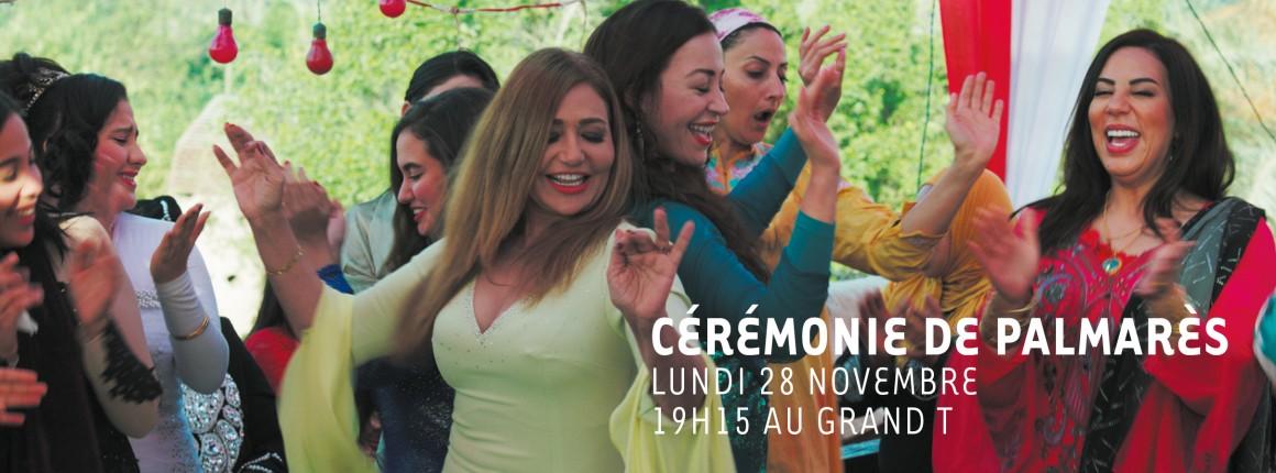 Participez à la Cérémonie de Palmarès du festival !