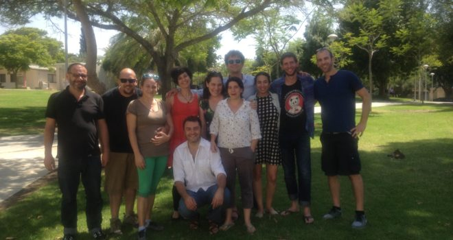 PAS workshop in Sderot 2015
