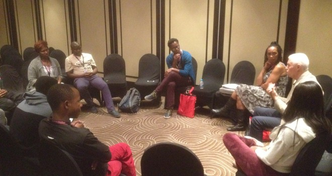 Kick-off of the Jumpstart program, led by Stefano Tealdi, targeting young filmmakers from Kuazulu Natal (KZN).
