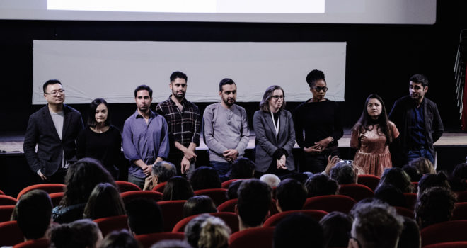 2017 Pitch presentation at Le Cinématographe (Nantes)