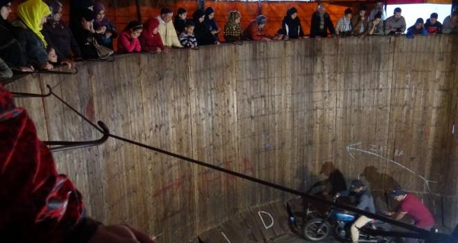 Le mur de la mort d'Amine Sabir (Maroc)