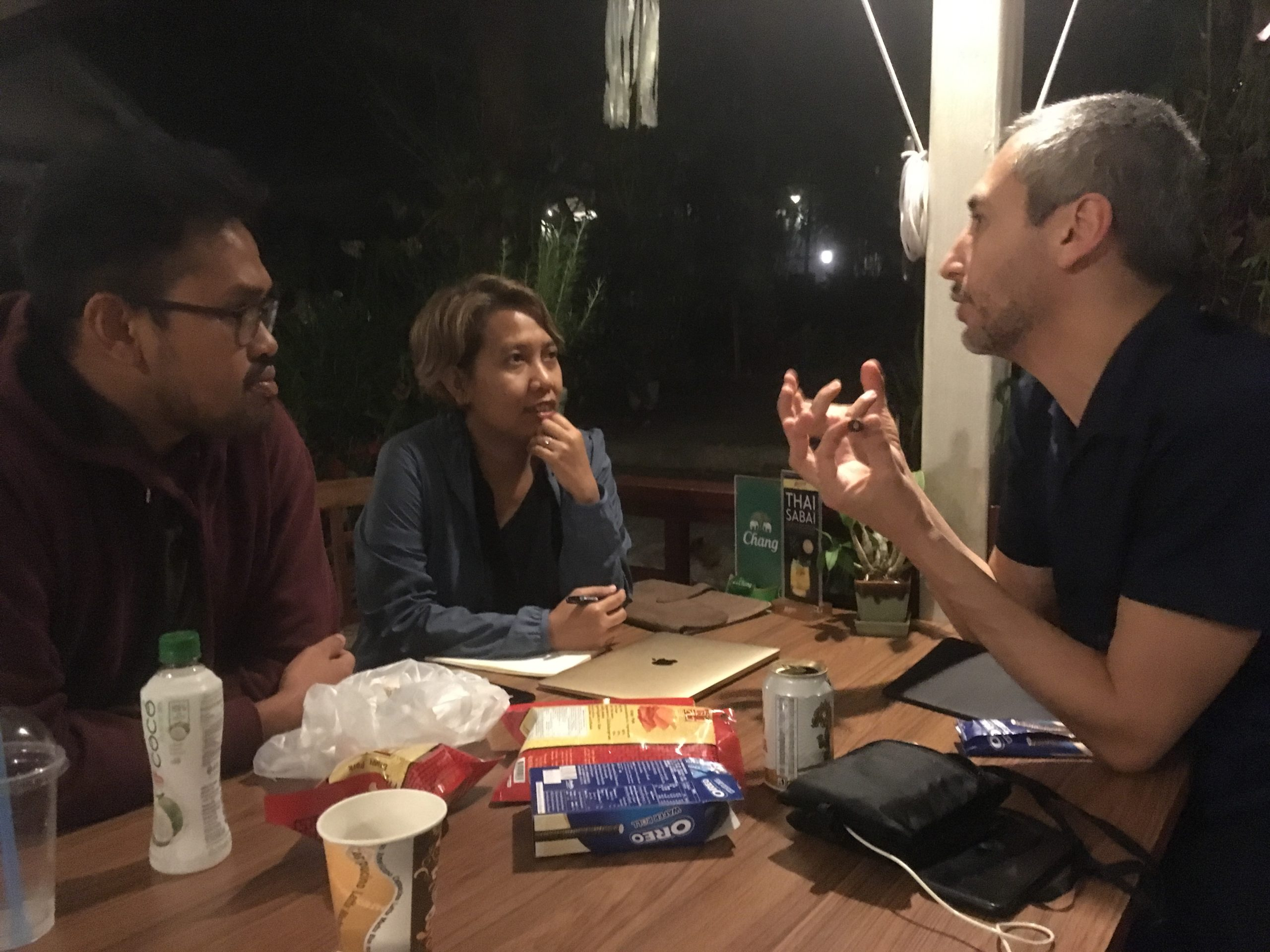 individual meeting with french sale agent Hedi Zardi (LuxBox)