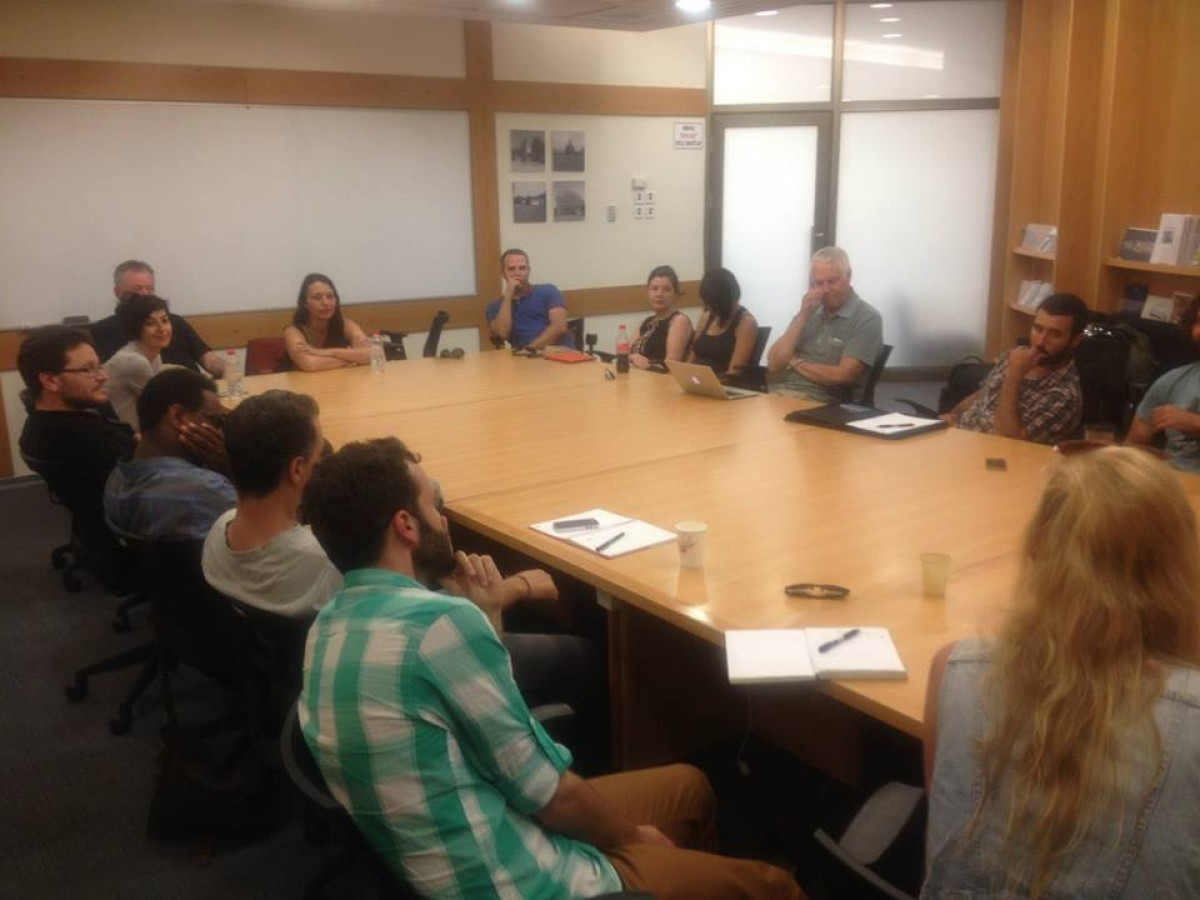 PAS workshop in Sderot 2014