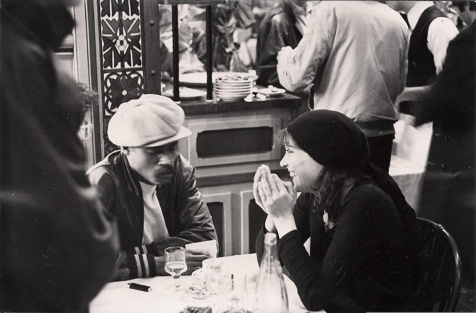 Melvin van Peebles et Anna Karina