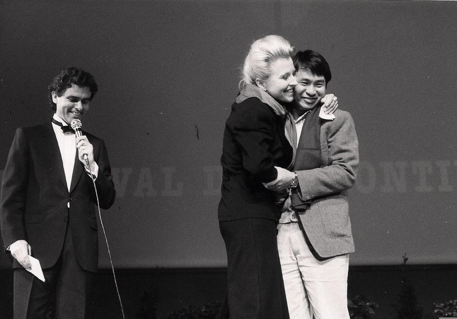 Claude Sérillon, Hanna Schygulla, Hou Hsiao-hsien (Montgolfière d'or pour Un été chez grand-père)