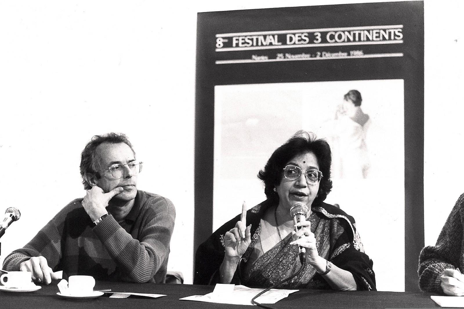Philippe Jalladeau et Vijaya Mehta