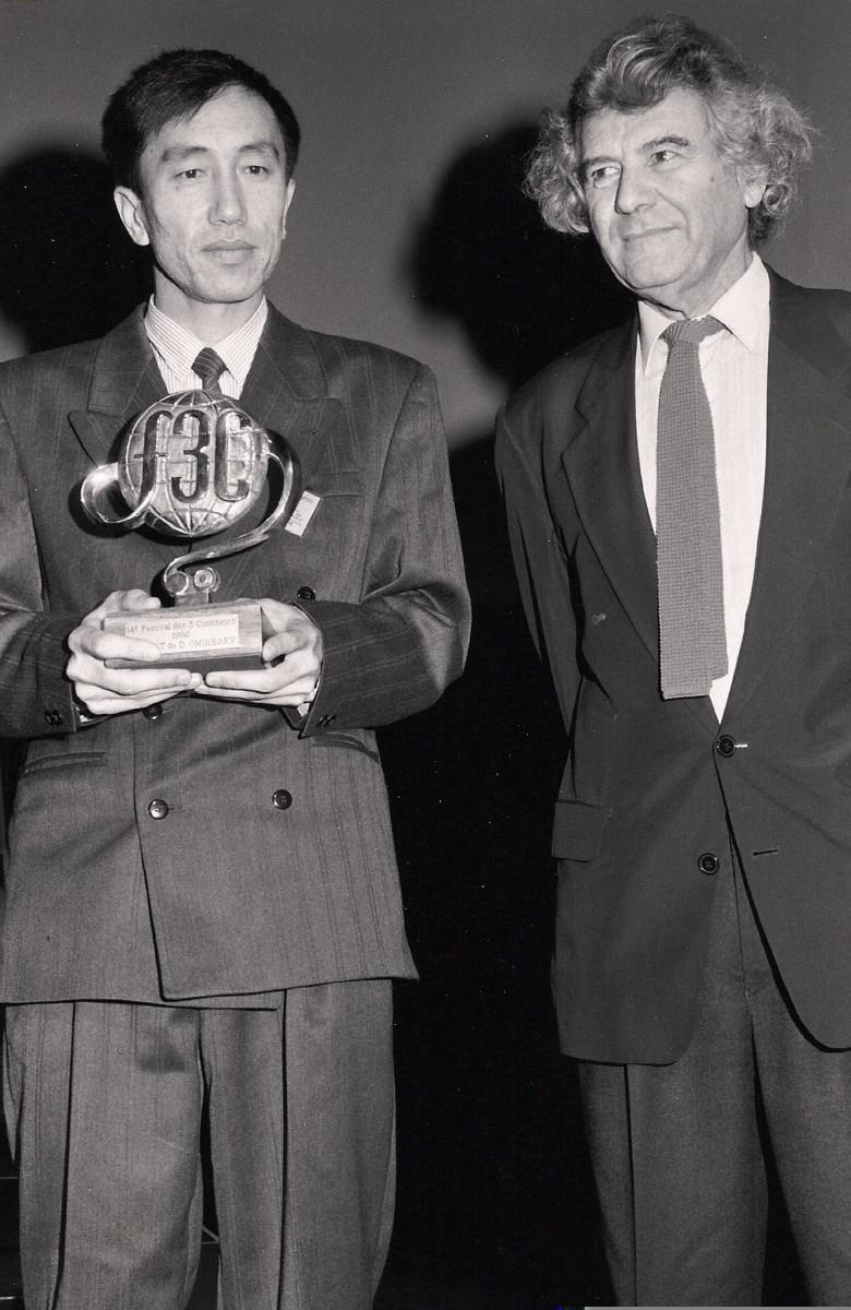 Darejan Ormibaev et Jacques Rozier