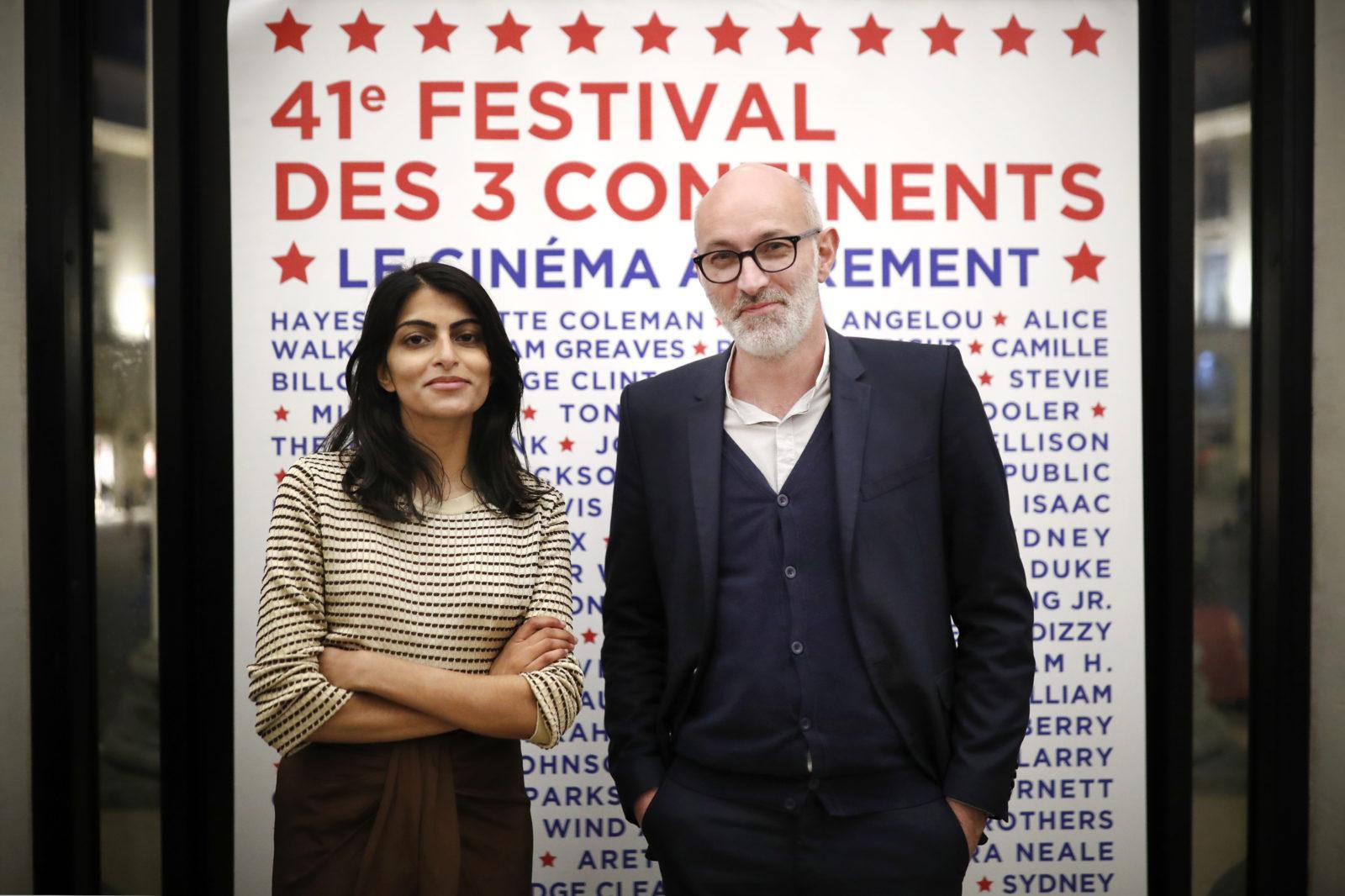 Aisha Rahim, programmatrice et Jérome Baron, directeur artistique ©S Mahé