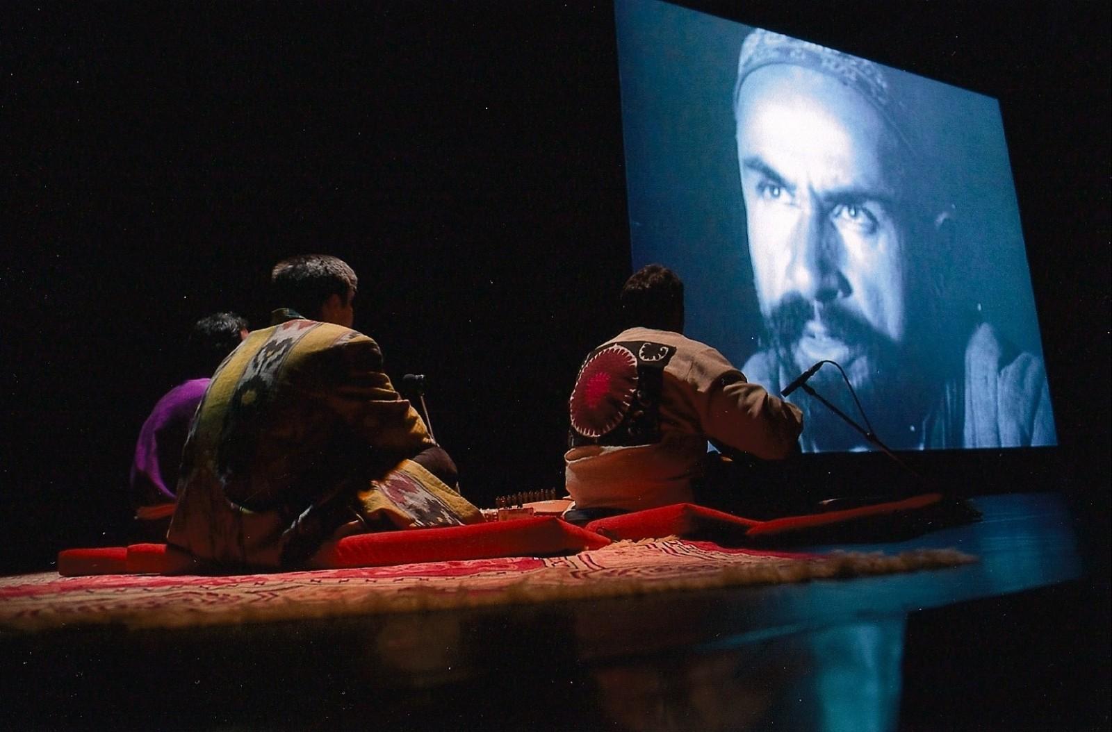 Film muet ouzbek et musiciens
