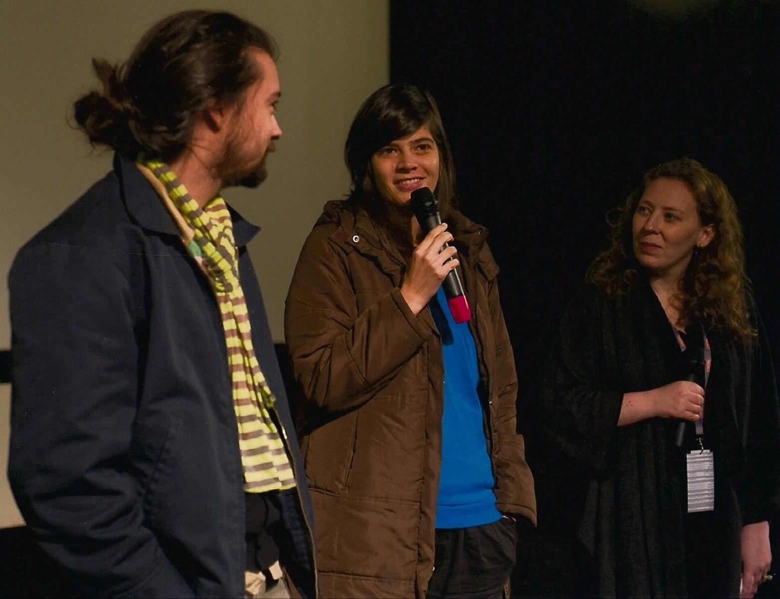 Israel Cardenas, Laura Amelia Guzman, Charlotte Garson