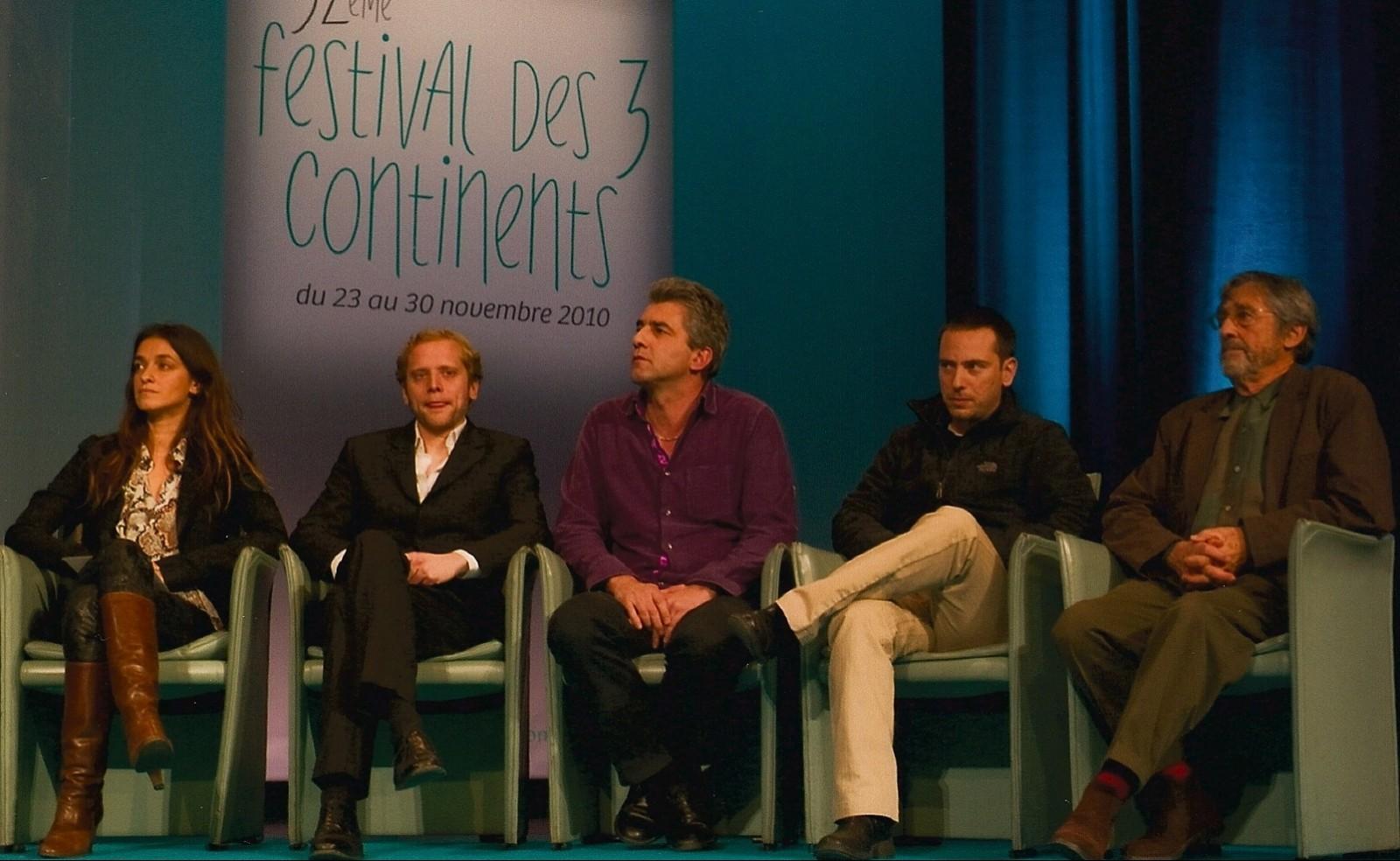 Jury : Joana Preiss, Sébastien Chesneau, Alain Guiraudie, Erez Pery, Jacques Loiseleux