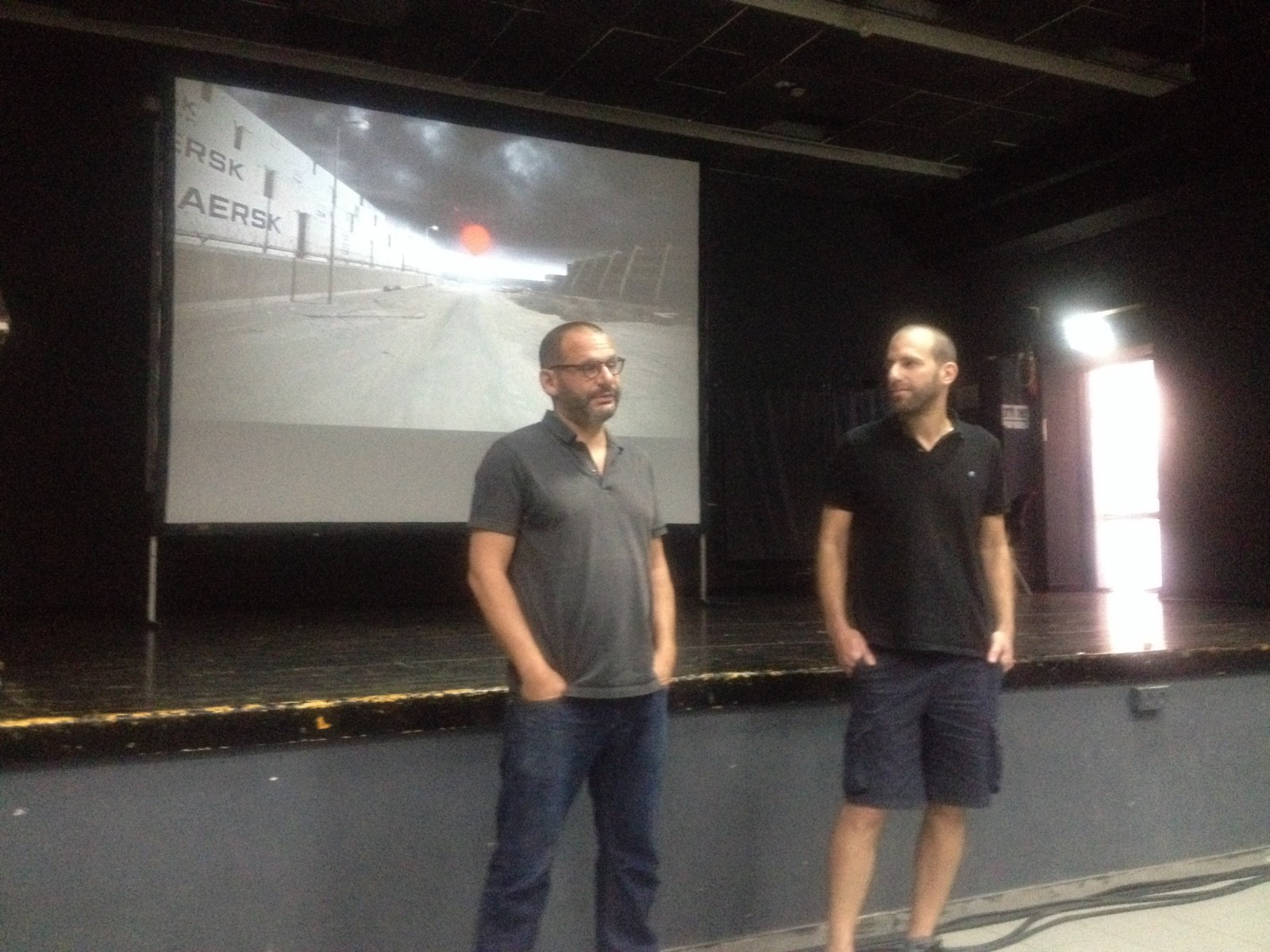 Pitching session - Misguided Bullet (Thomas Alfandari and Nitzan Ron)