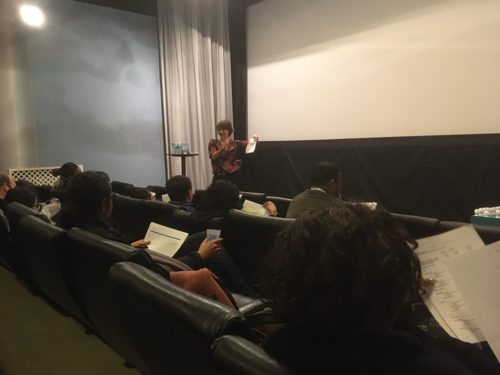 Work session around Postproduction at Le Concorde movie theater