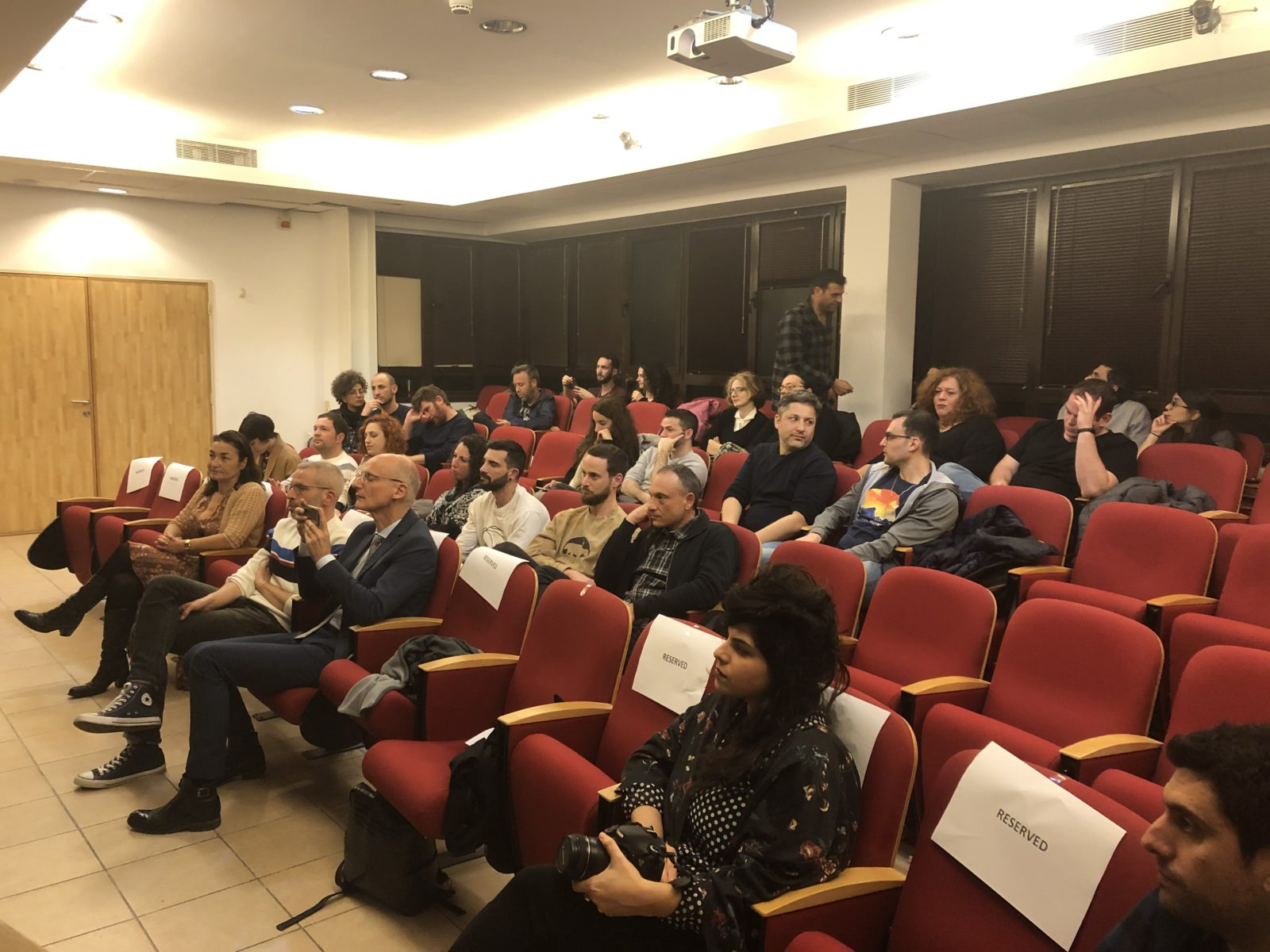 Official opening of the call for entries 2020 event in French Institute Tel Aviv (06/02/2020)