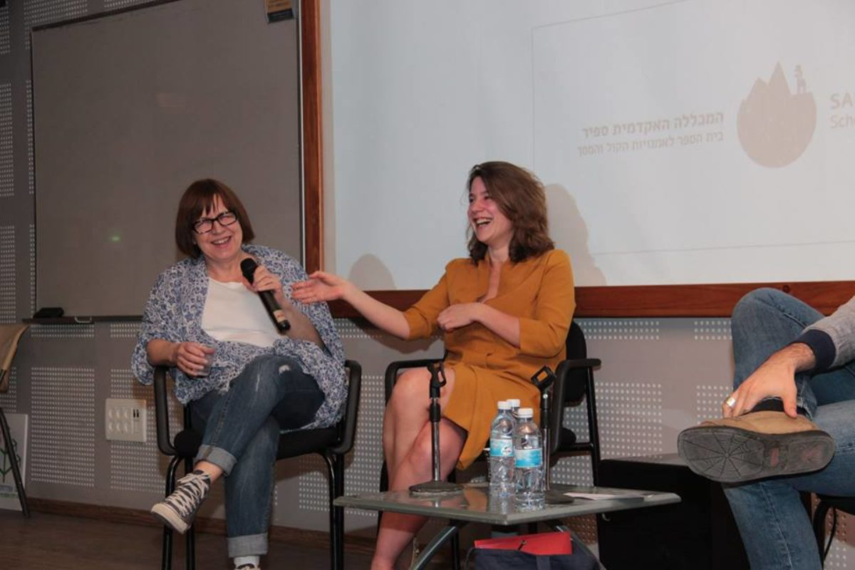 "Masterclass ""production beyond borders"" with Juliette Grandmont (Clandestine Films) and Ewa Puszczyńska (Opus Films)"