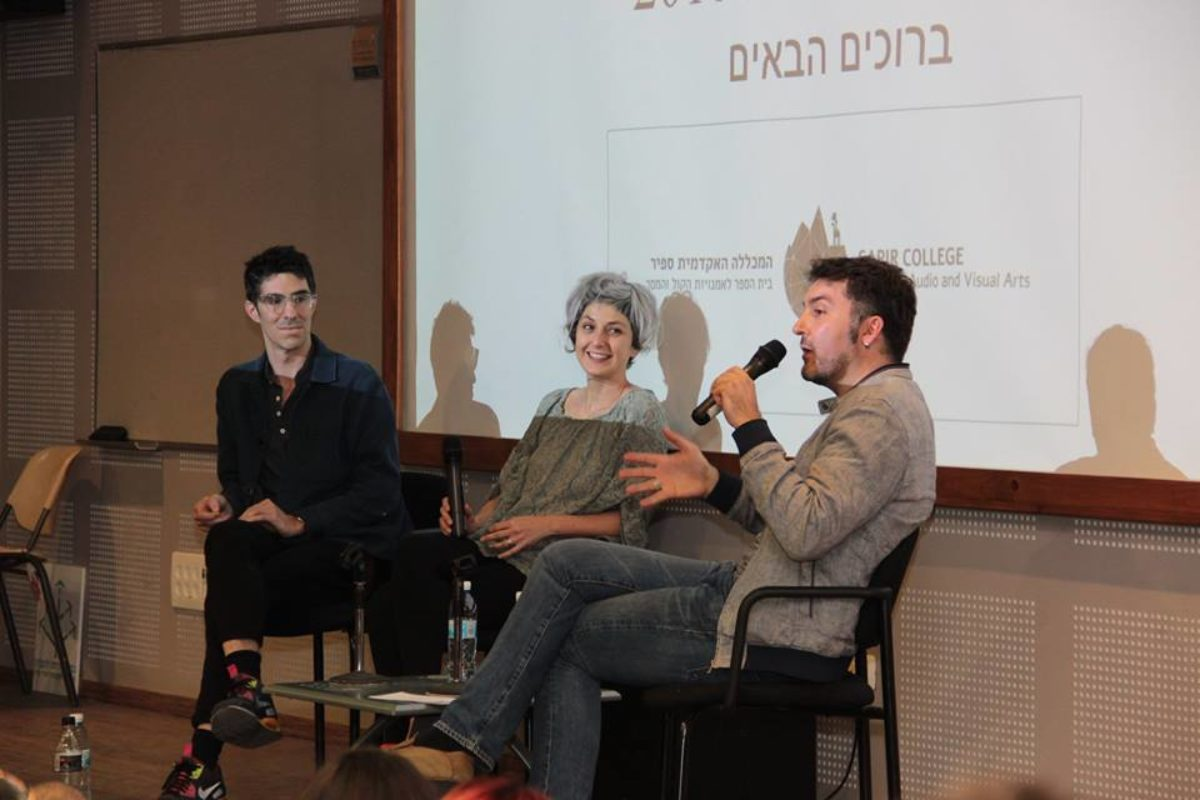 "Masterclass ""Scriptwriting beyond borders"" with Sari Turgeman and Jérémie Dubois"