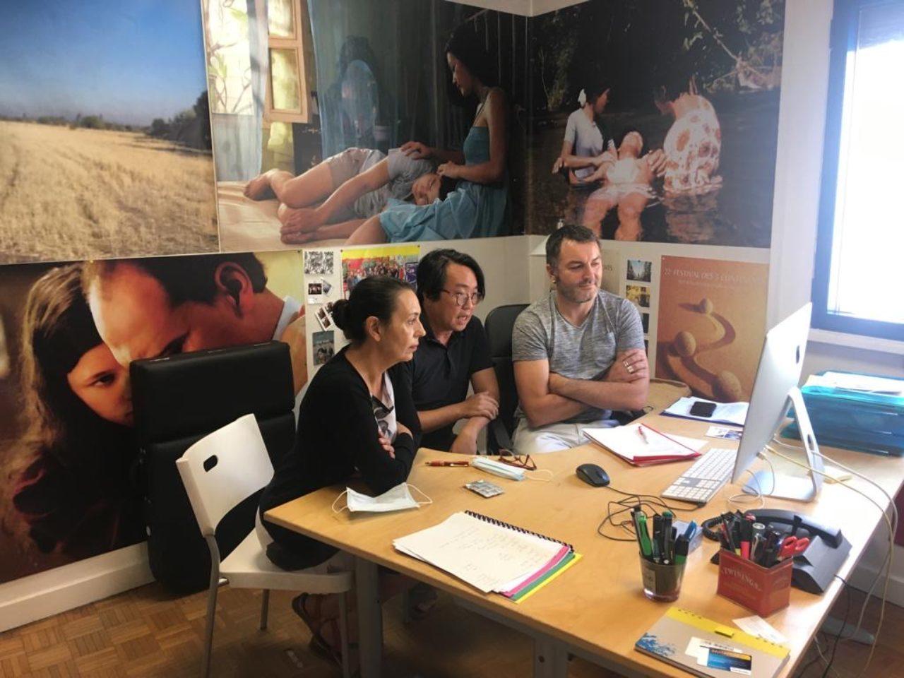 Third stage Taipei PAS workshop - Claire Lajourmard, Vincent Wang & Guillaume Mainguet
