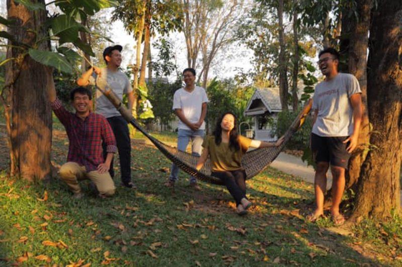 SEAFIC 3rd Edition directors' photo! — with Nguyen Le Hoang Viet, Petersen Vargas, Maw Naing and Makbul Mubarak.