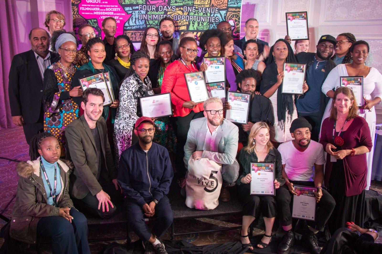 Group photo of DFM winners 2019
