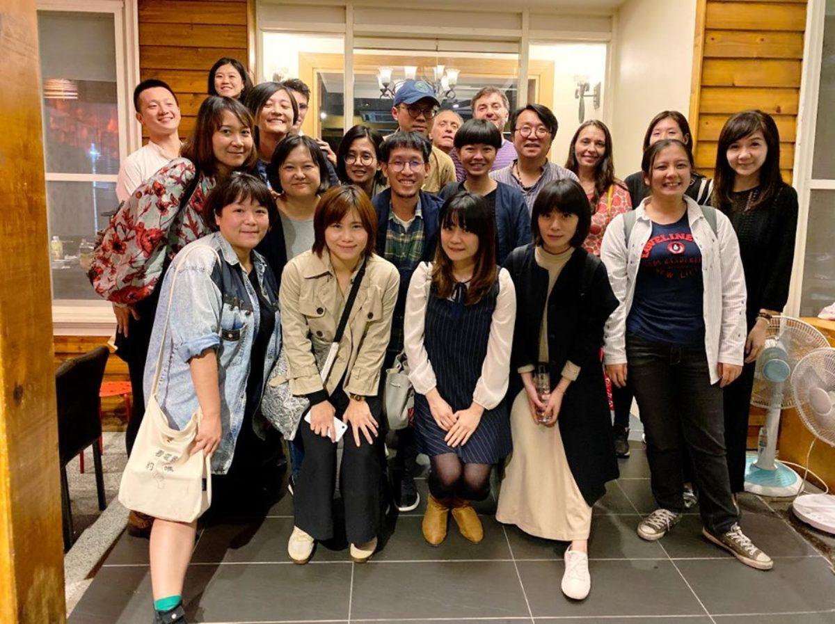 TAIPEI PAS group photo - participants, mentors and organizers