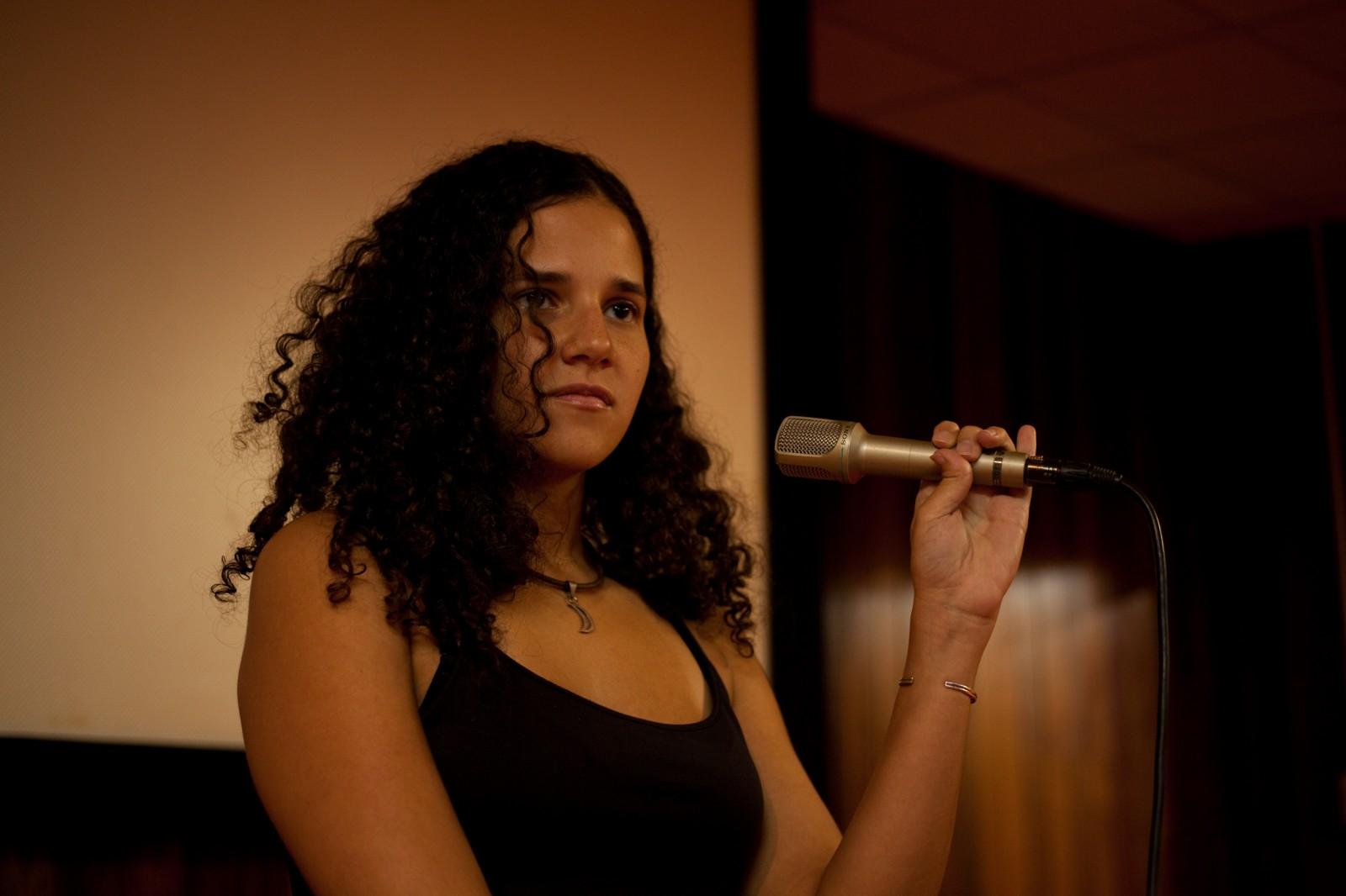 PAS Nantes 2011 - Amelia del Mar Hernandez (République Dominicaine) - Productrice - THE MAN WHO CARES