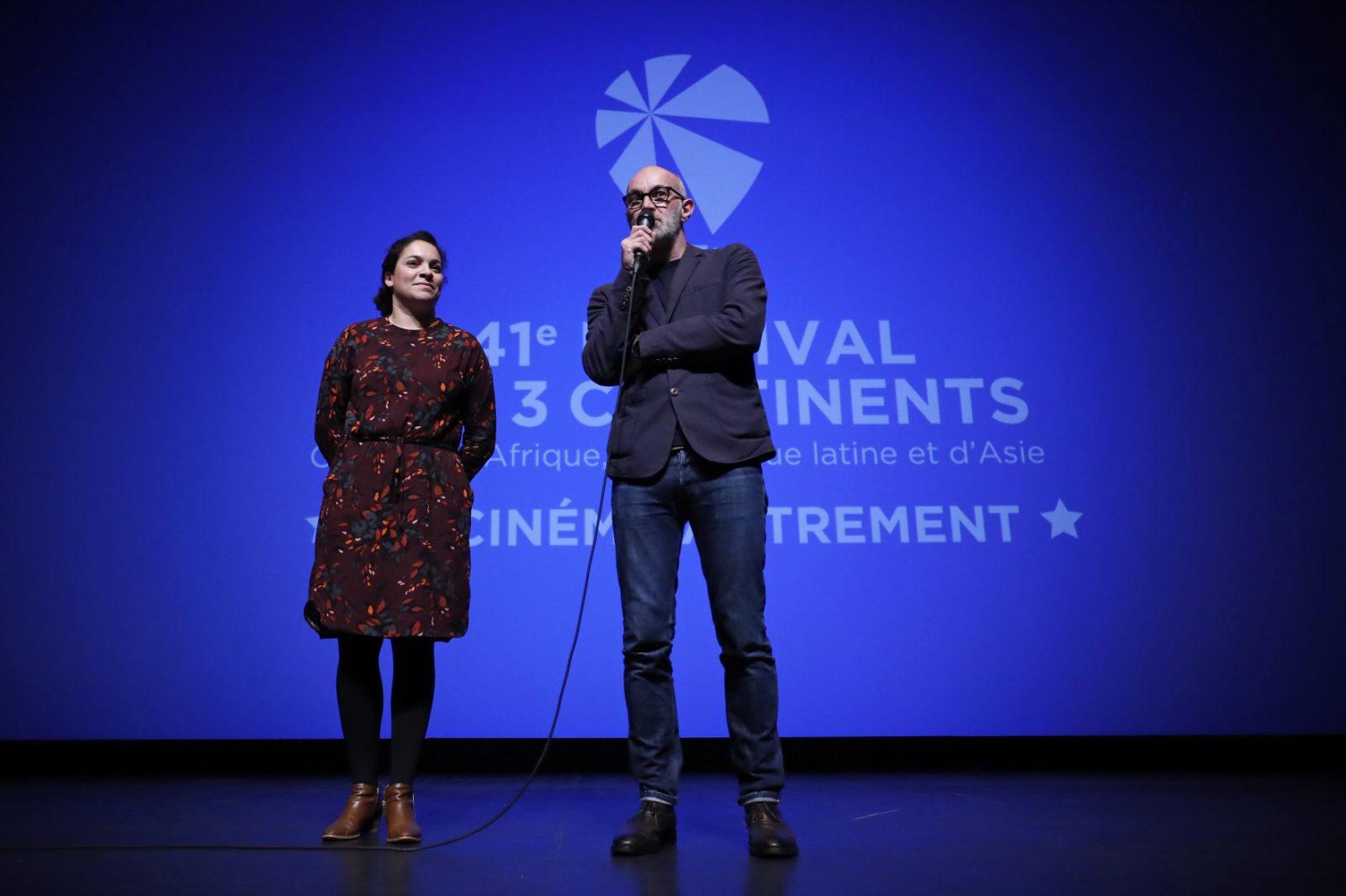 Anne-Laure Joséphine, président de l'Association des 3 Continents et Jérôme Baron, directeur du festival des 3 Continents © Stéphane Mahé
