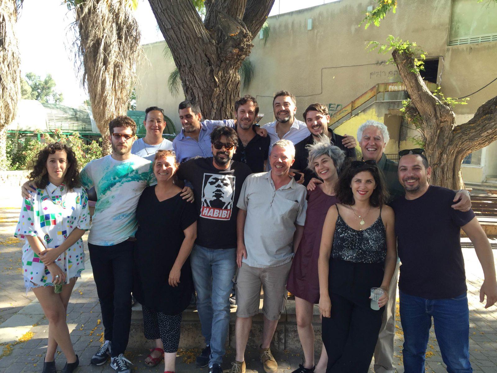 2016 Studio Darom group photo in Sderot
