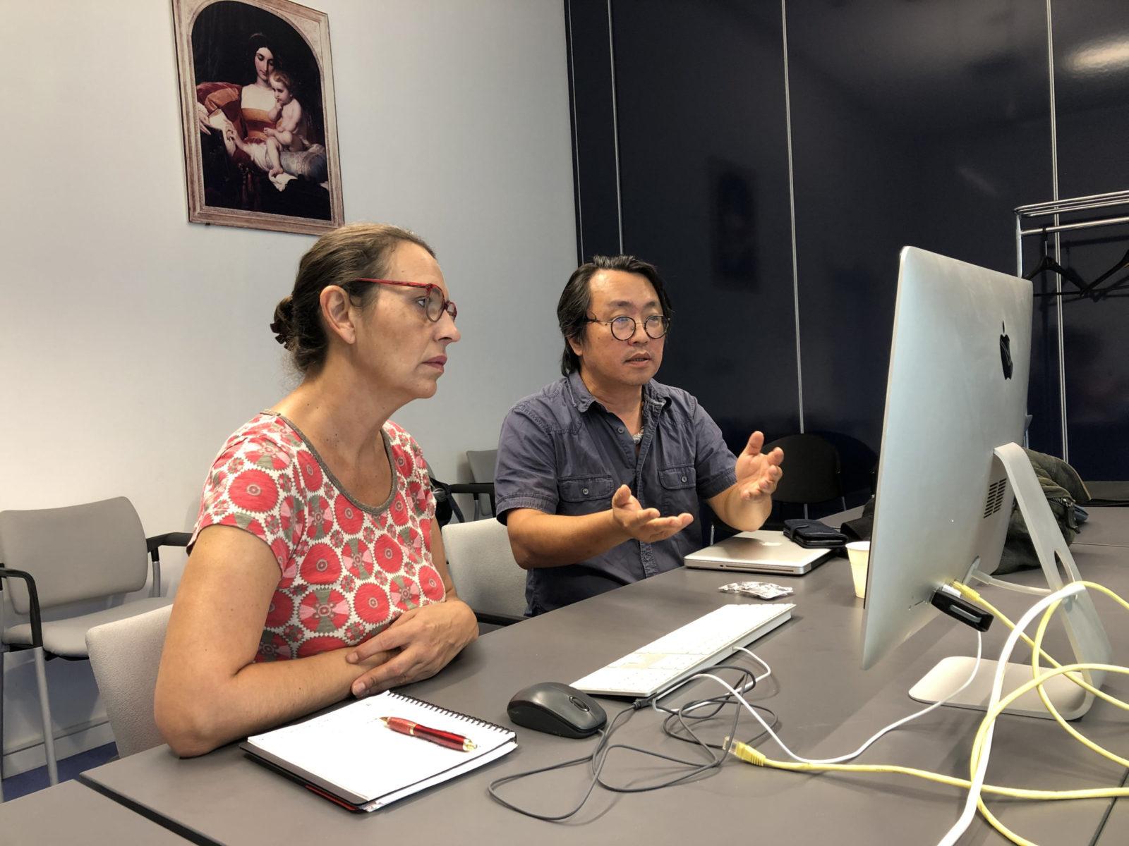 Third stage Taipei PAS workshop - Vincent Wang & Claire Lajourmard