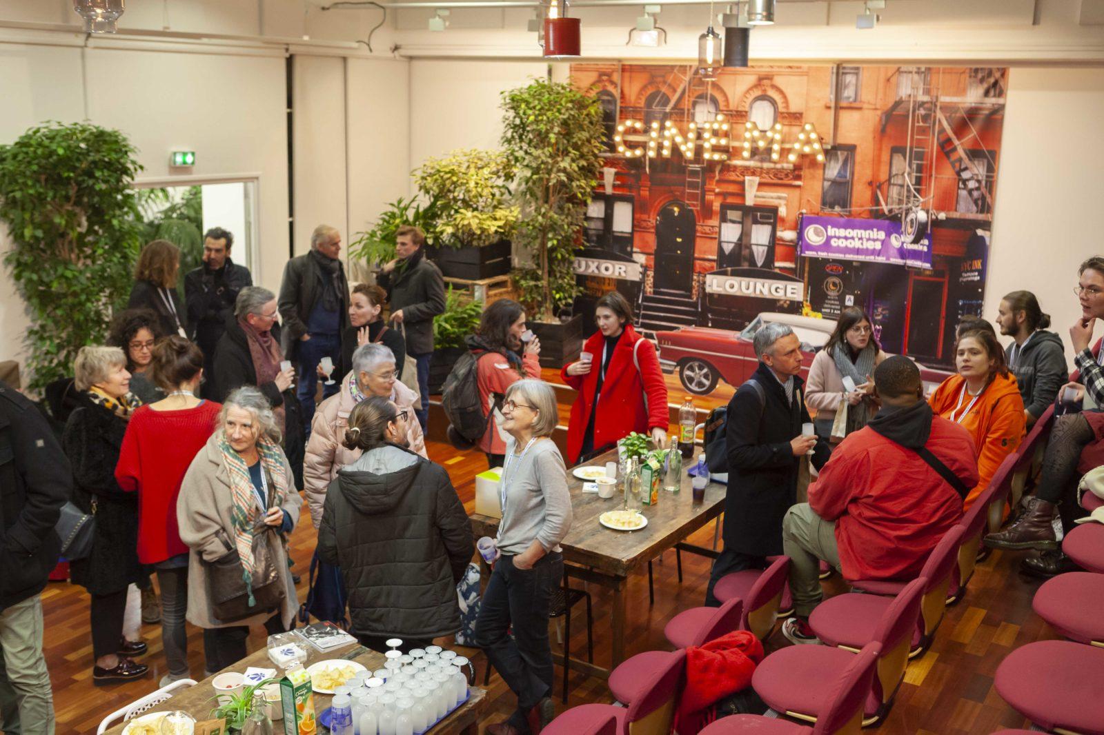 Pot des bénévoles Le 3 Continents Café - Espace Cosmopolis ©JG Aubert