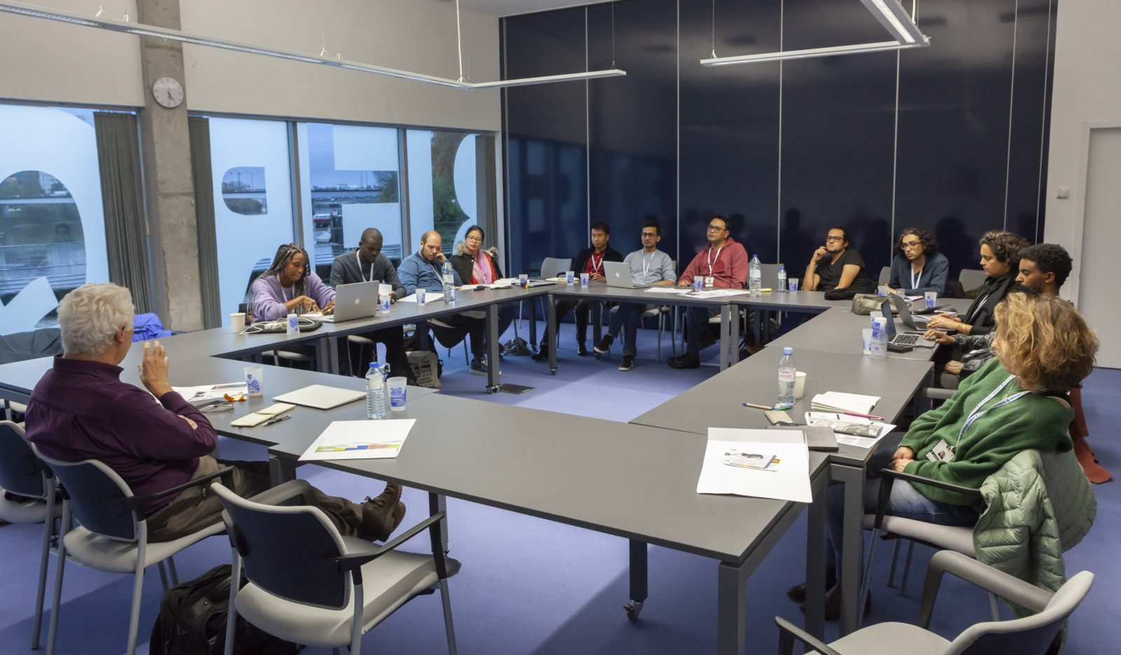 Work session at the Institute for advanced study