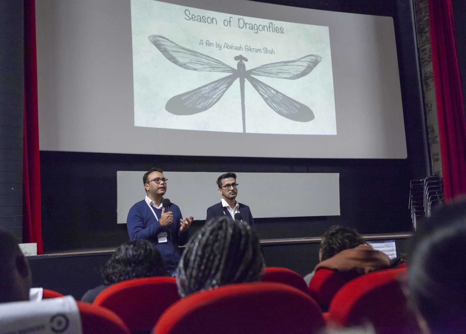Pitch presentation at Le Cinématographe