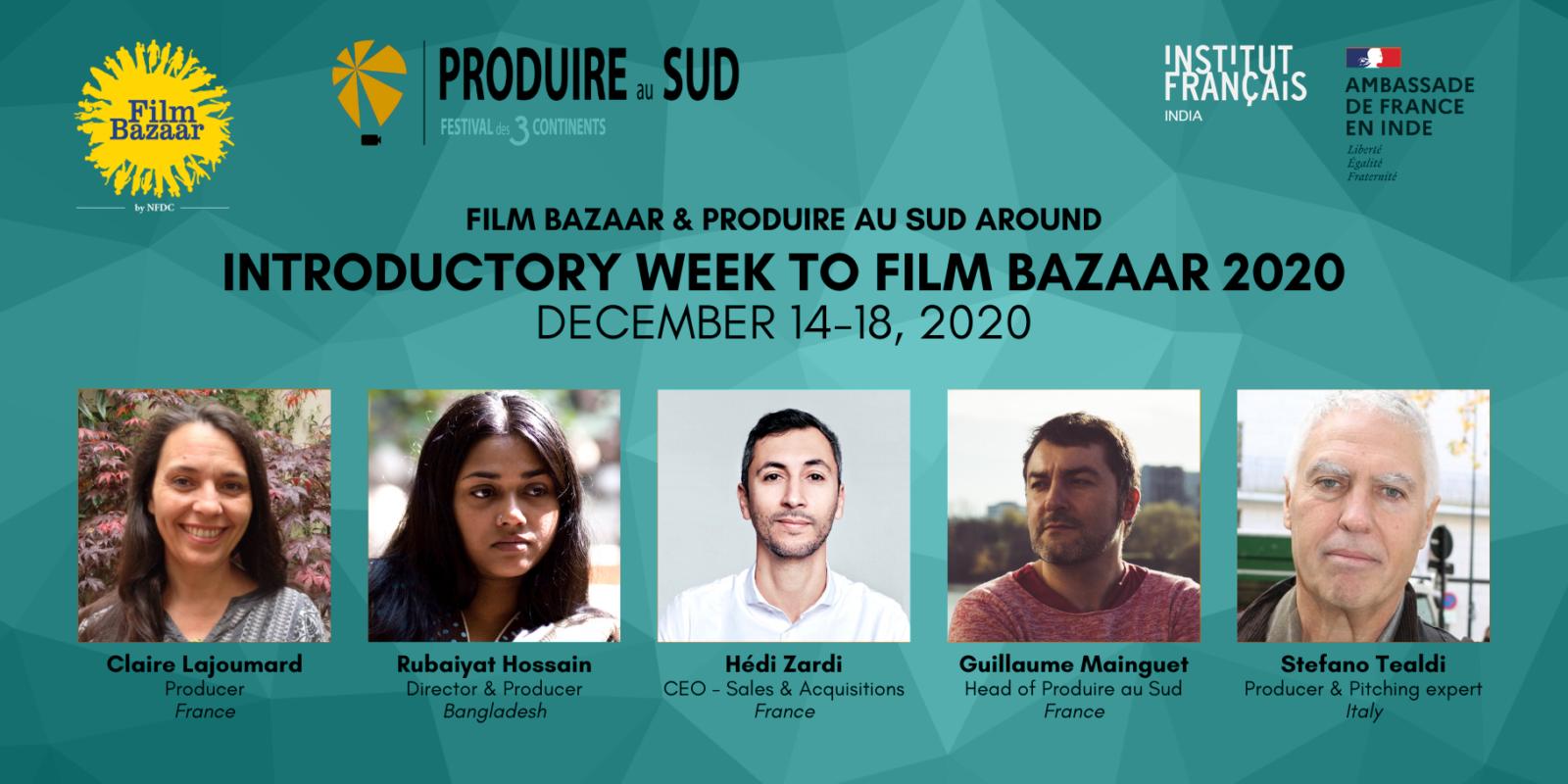 Partnership Film Bazaar/Produire au Sud