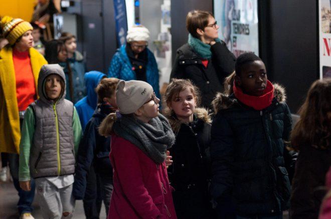 Photo élèves Premiers Pas vers les 3 Continents 2019