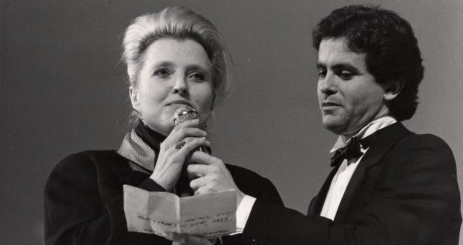 Hannah Schygulla et Claude Sérillon