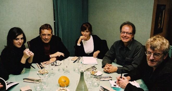Jury, Léonor Baldaque, Mario Dondero, Christine Laurent, Gérard Huisman, Michel Braudeau