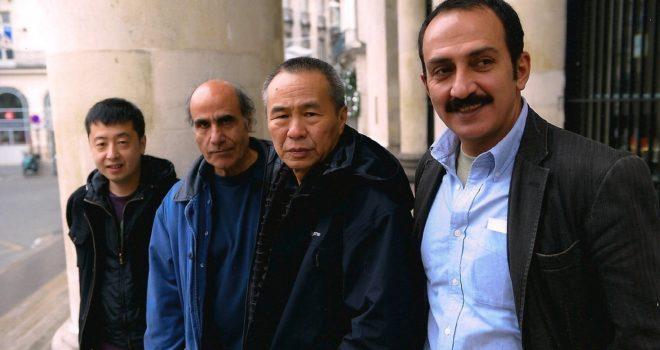 Jia Zhang-ke, Amir Naderi, Hou Hsiao-hsien, Abolfazl Jalili