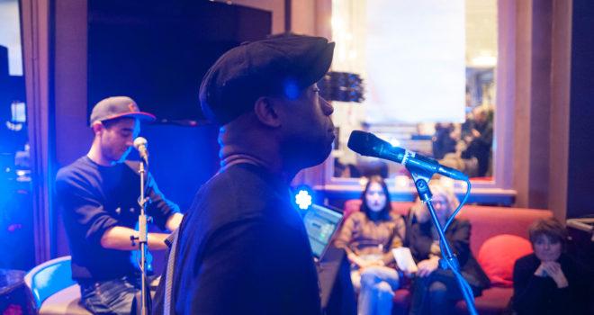 Concert de Sorg et Maddox à l'Hôtel de France ©CEBlot