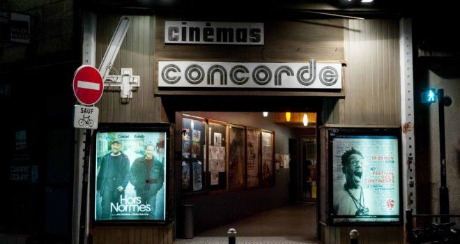 Cinéma Le Concorde © CL Blot