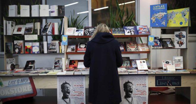 La librairie du 3 Continents Café © SMahe